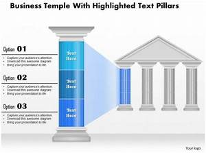 0914 Business Plan Business Temple With Highlighted Text