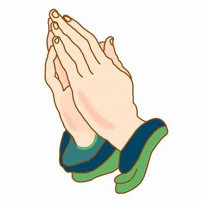 Clipart Hands Prayer Transparent Pray Hand Prayers