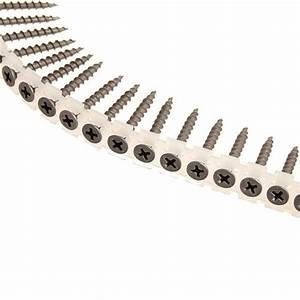 Vis Plaque De Platre : vis plaque de pl tre sur support bois 3 9 x 41 mm f 31182 ~ Dailycaller-alerts.com Idées de Décoration