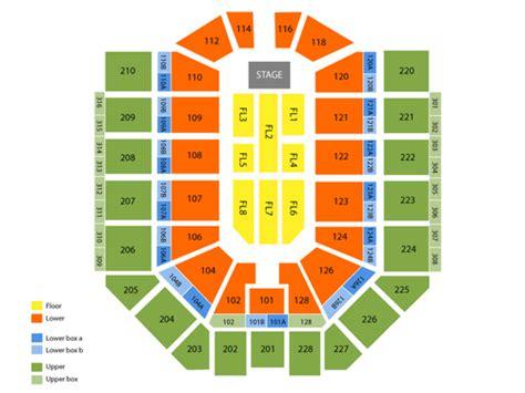 van andel arena seating chart   grand rapids mi