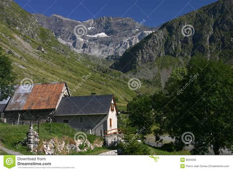 big houses floor plans small in pyrenees mountains royalty free stock