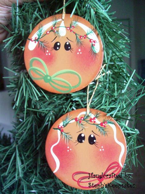 painted wooden christmas ornament patterns woodworking