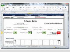 School Attendance Register and Report Download