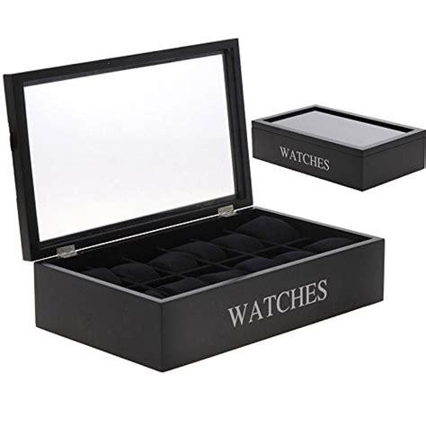 coffret cuisine pas cher boite coffret de rangement montres pour 12 montres en