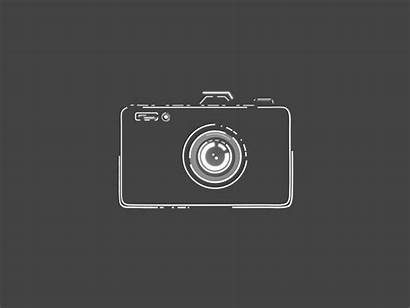 Camera Flat Effects Dribbble Strokes Dashes Voila