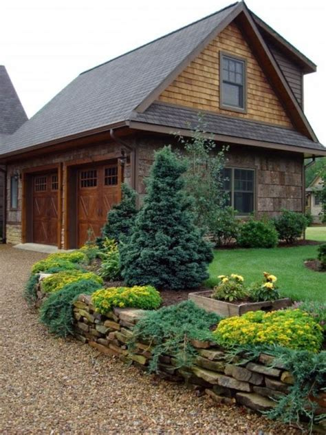 Landscaping With Gravel And Stones  25 Garden Ideas For