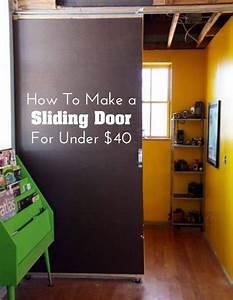50 ways to use interior sliding barn doors in your home With 40 dollar barn door