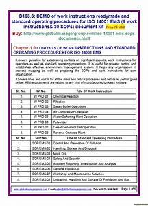 Iso 14001 Templates Document Kit Covers Guideline For