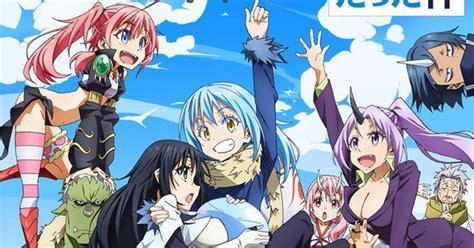 time   reincarnated   slime anime adds
