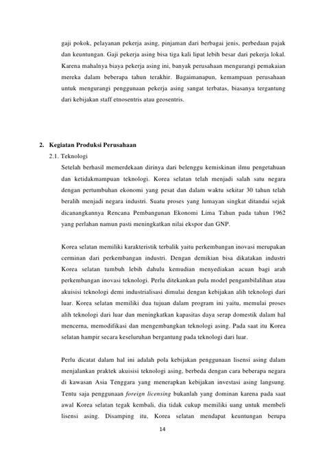 Bisnis Internasional : korea selatan