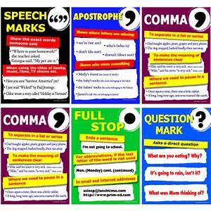 punctuation in English | Learn about English