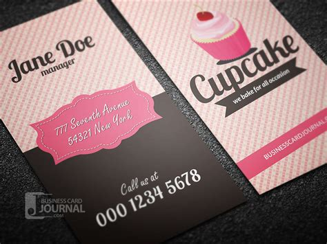 Decorative Bakery Shop Business Card Business Cards Logos Ideas Avery Template 5881 100 Black And White Best Los Angeles With Circle Logo Own Online Carry Blank