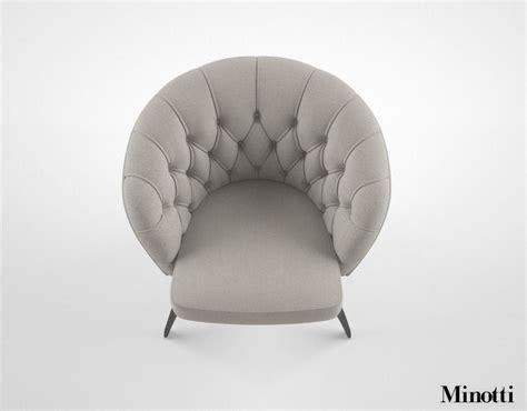 Minotti Winston Armchair 3d Model Max Obj Fbx Mtl