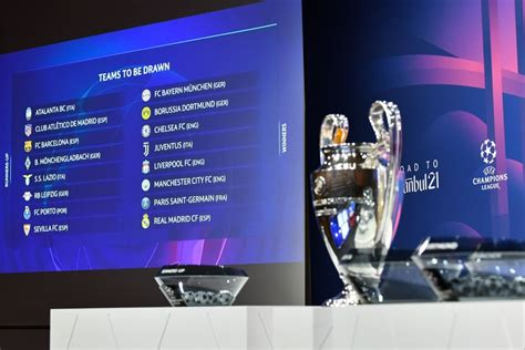 Champions League draw in full: Chelsea vs Atletico Madrid ...