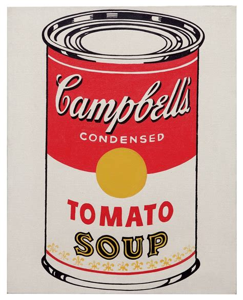 Cbell Tomato Soup Andy Warhol by Andy Warhol 1928 1987 Cbell S Soup Can Tomato