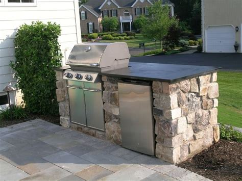 simple outdoor kitchen ideas 24 best images about outside on patio grill