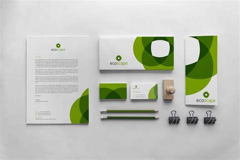 corporate identity design bath ecoscape design logo rocket