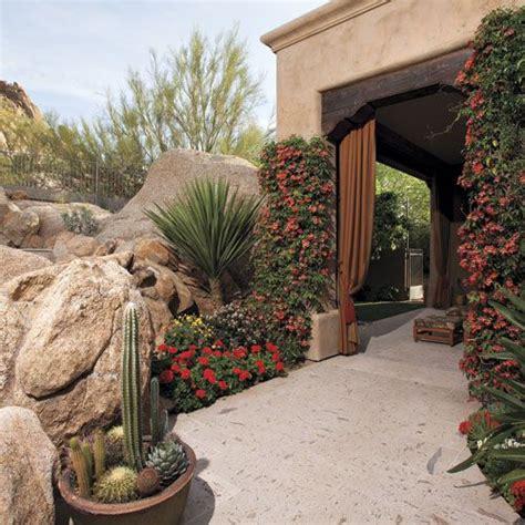 vibrant color   rich plant palette highlight  patios