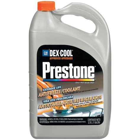 prestone dex cool extended life antifreeze coolant  gallon