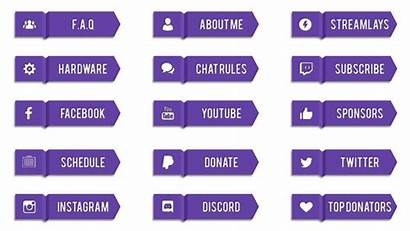 Twitch Panels Kostenlos Stream Streamlays Buttons