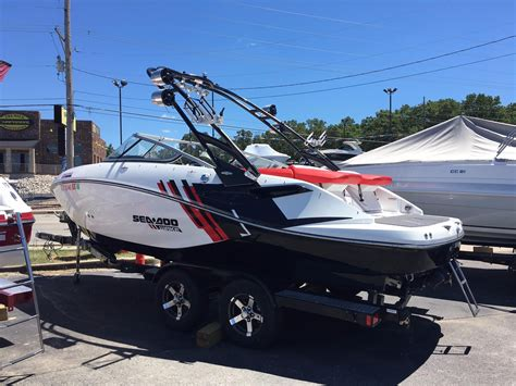 Sea Doo Boats 2012 sea doo 21 wakesetter power boat for sale www