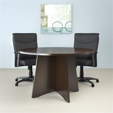 brighton 4 conference table with x shaped base
