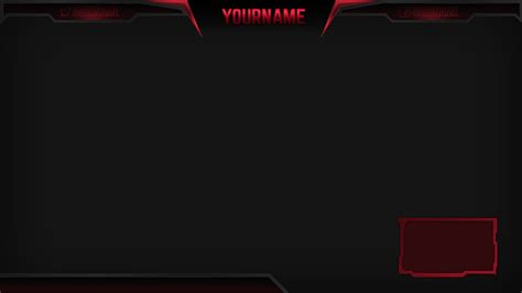 twitch overlay template girls 12 stream overlay psd images blank twitch stream overlay