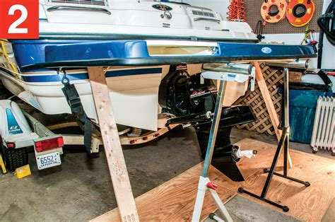 Boat Trailer Step Platform by Step Up To A Swim Platform Boating World