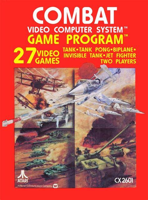 Combat Game For The Atari 2600 Retro Games Now