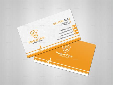 doctor business card  diderdesign graphicriver