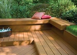 Garden Outdoor Composite Deck Boards Co Extrude Wood