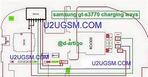 Samsung S3770 Usb Charging Port Full Traced Jumper