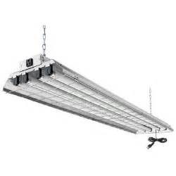lithonia lighting 4 light grey fluorescent heavy duty shop
