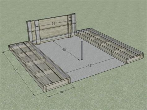 Horseshoe Pit Dimensions Backyard - how to build a horseshoe pit how tos diy