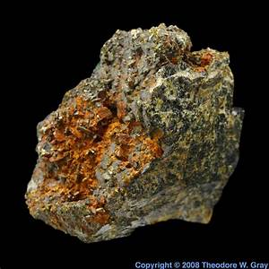 Sphalerite from Jensan Set, a sample of the element ...
