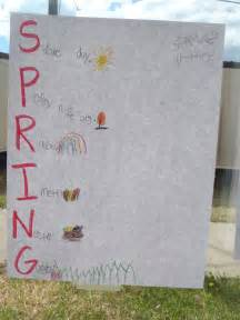 Acrostic Poems About Spring