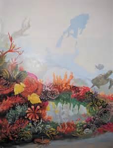 Tropical Fish Mural