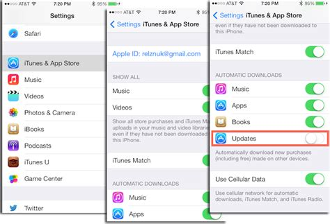 automatic app updates iphone how to disable automatic app updates in ios 7 mactrast