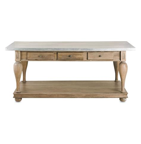 french country console table french country balustrade antique walnut kitchen island
