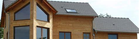 maisons ossature bois extensions boissiere et fils maisons ossature bois en aveyron
