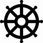 Wheel Icon Ship Svg Ships Boat Symbol