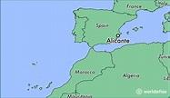 Where is Alicante, Spain? / Alicante, Valencia Map ...
