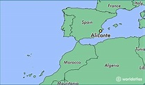 Where is Alicante, Spain? / Alicante, Valencia Map ...