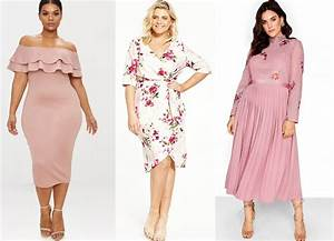 9 plus size wedding guest dresses you will love With plus size dresses for daytime wedding