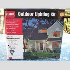 Toro 9 Light Outdoor Lighting Kit Model 52452 40 Watt Ebay