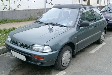 1990 Daihatsu Mira Related Infomation,specifications