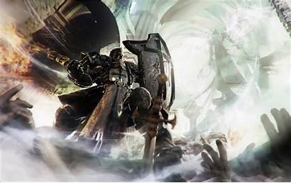 Diablo Iii Reaper Crusader Templar Knights Wallpapers