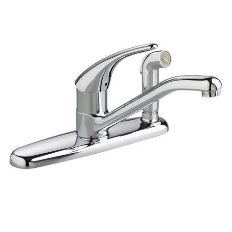 standard single handle kitchen faucet standard colony single handle standard