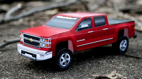 Build Your Own 2014 Chevrolet Silverado... Out Of Paper