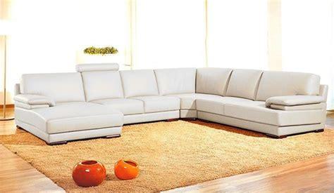 Orange Contemporary Sofa by Vig Furniture Contemporary Orange Sectional Sofa